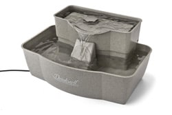 drinkwell multi tier cat fountain