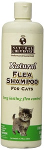 natural chemistry cat shampoo for fleas