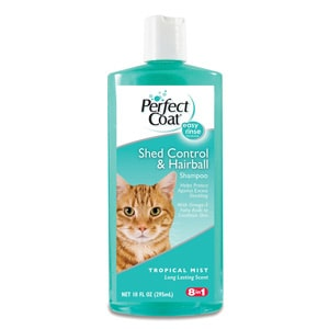 perfect coat kitty shampoo for hairballs