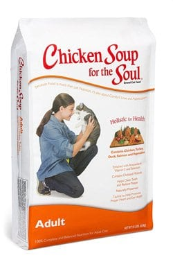 chicken soup for the soul adult dry food for cats