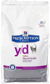 hills diet thyroid dry cat food