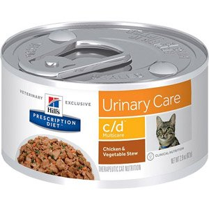 hills c/d multicare feline bladder health food
