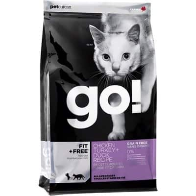 petcurean go fit plus free grain dry cat food