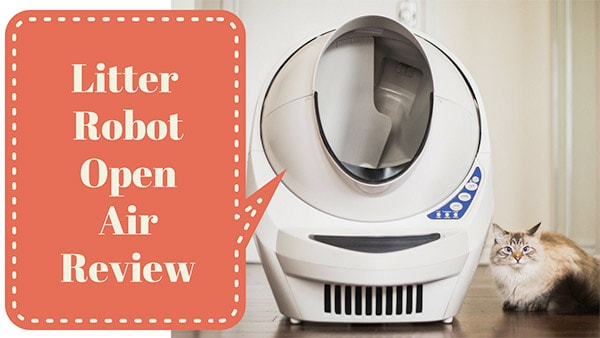 review of litter robot open air iii
