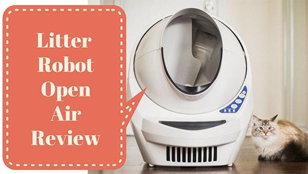 review of litter robot open air iii