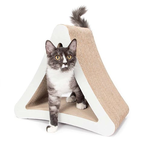pet fusion 3 sided scratcher