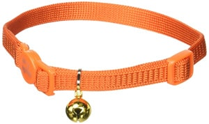 orange bell collared